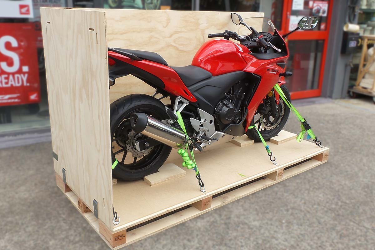 Why Shipping a Sports Bike Overseas Needs to be Done Carefully?